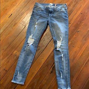 Sneak Peek Skinny Jeans Size 3